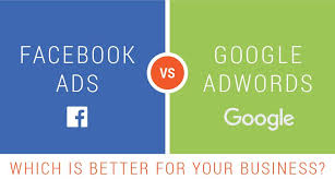 facebook ads Vs google ad words
